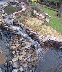 fish pond waterfall