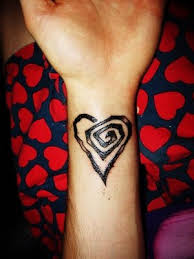 barbwire heart tattoos
