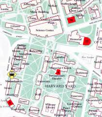 harvard college map