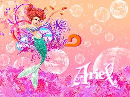 princesses ariel
