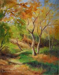 autumn oil paintings