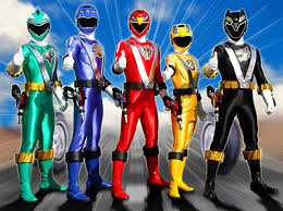 power ranger characters