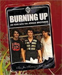 jonas brothers burning up book