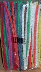 colored pipe cleaners