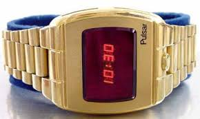 first digital watches