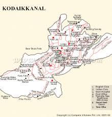 kodaikanal map