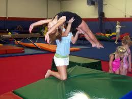 gymnastics in school