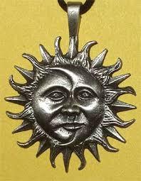 sun moon face