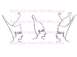 egyptian crowns