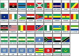 flags of african countries
