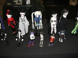 bleeding edge goth dolls