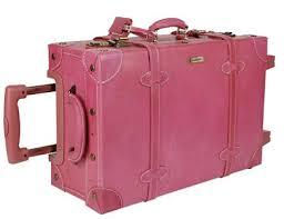 pink suit cases