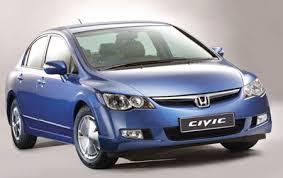 honda civic hybrid car