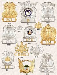 police cap badge