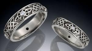 celtic diamond wedding bands