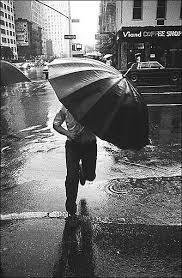 black and white rain photos