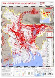 bangladesh flood map