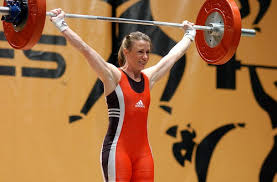 weight lifting women