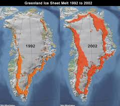 global warming ice cap