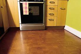 cork floor kitchen