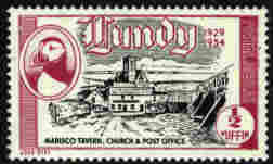 lundy stamps