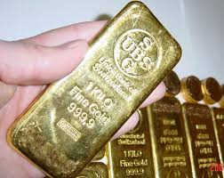 large gold bar