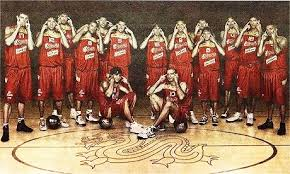 spain basketball team picture