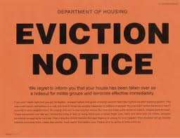 blank eviction notice