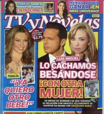 revista tv novelas