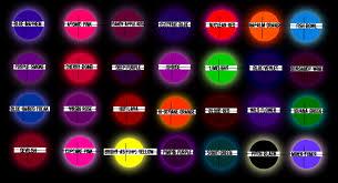 blacklight color