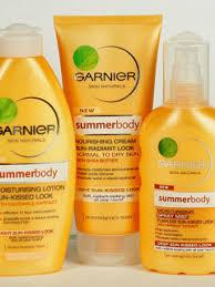 garnier body summer