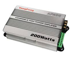 power amplifier car