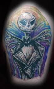 jack the skeleton tattoos