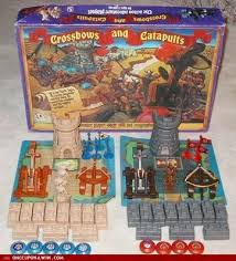 crossbows catapults