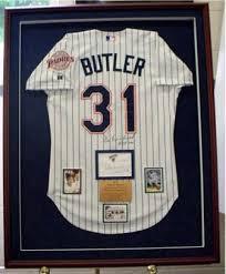 framed baseball jerseys