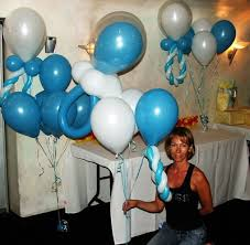 balloons for baby shower