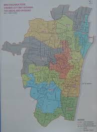 chennai area map