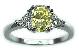canary diamond engagement