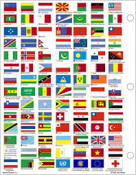 pictures of world flags