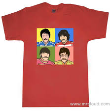 beatles tshirts