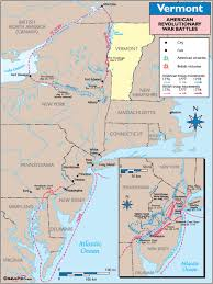 maps of revolutionary war battles