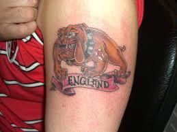 british bulldog tattoos