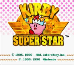 kirby superstars