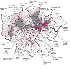 ethnic map of london