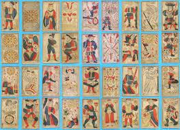 old tarot cards