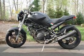 ducati monster 750 dark