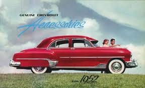 1952 chevy car