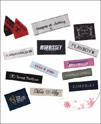 clothing brand labels