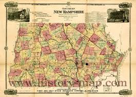map of southern nh