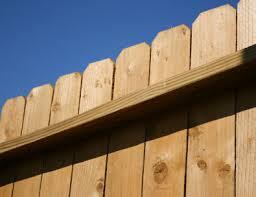 rustic wood fences